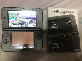 3DS LL  外加魔物獵人x 跟xx遊戲片 可單買可議價