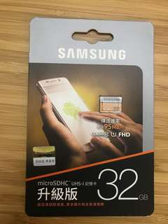 Samsung micro SDcard (32GB)