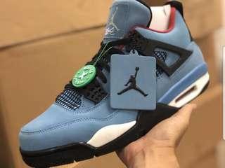 Nike Air Jordan Retro 4 Travis Scott Cactus Jack