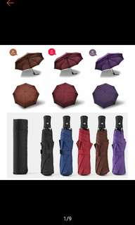 Automatic 3 Fold Travel Umbrella (Branded like Quality)