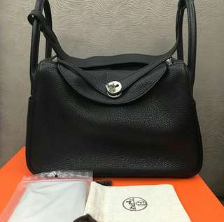 Hermes Lindy 30 Black