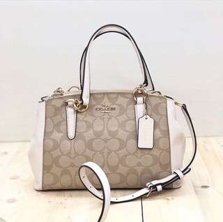 Coach mini christie signature size 26x17