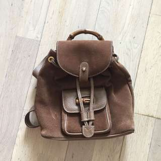 Gucci Bamboo Backpack 背包