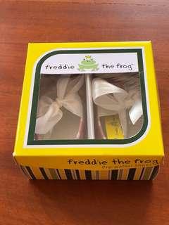 New Freddie the frog prewalker baby shoes