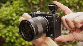 Canon EOS M5. Bisa cicilan proses 3menit