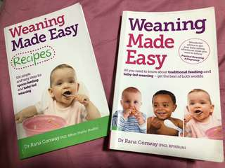 Weaning Made Easy (set of 2 books)