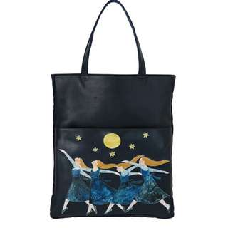 Ne-net Leather Tote Bag Limited Edition