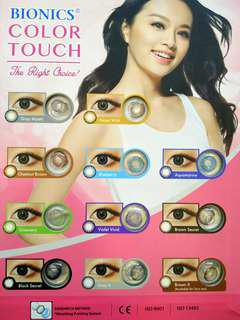 Bionics Colour Contact Lens