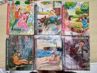 Modern Ilustrated Classic (6 buku)