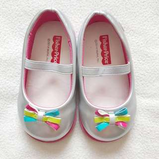 Fisherprice Silver Shoes (15 cm) for only PHP 350.00 ✨