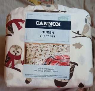 Brand new bed sheet set Cannon