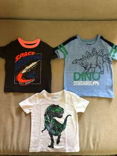 OshKosh Set of 3 Tshirts (12M)
