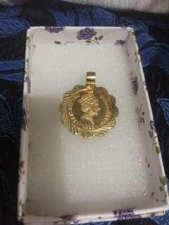 Saudi gold 18k Pendant