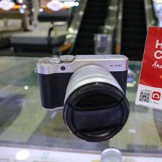 Fujifilm x10 promo kredit ceat dan mudah