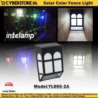 YL005-2A / Solar Color Fence Light