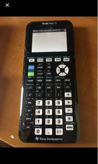Graphic calculator TI 84 Plus Texas