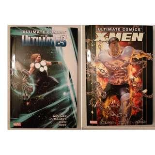 2x Ultimate Comics: The Ultimates & X-Men