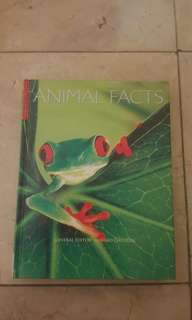 ANIMAL FACTS - GERARD CHESHIRE