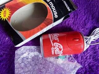 3D Optical Mouse Coca Cola NEW