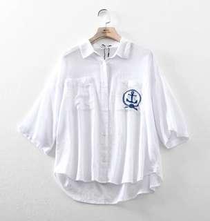 🚚 H connect 水手襯衫