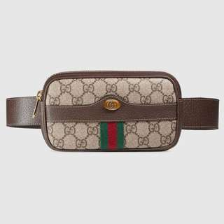 Gucci belt bag 老花腰包