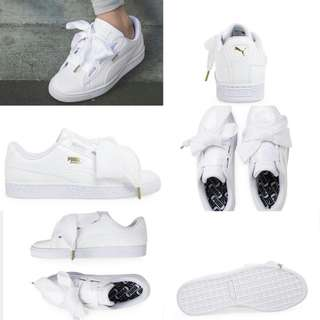 Puma Basket Heart Patent Woman