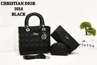 Lady Dior 3 in 1 Black