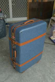 Original Samsonite Luggage (Marble Blue)