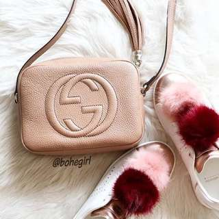 Gucci Soho Bag in beige