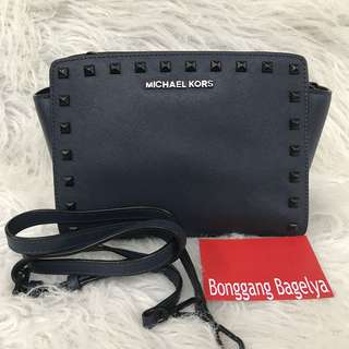 Authentic MK Selma Studded Sling