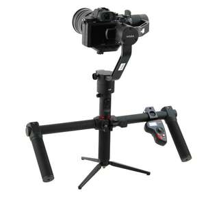 2018 MOZA Air 3 Axis Gimbal Dual Handheld Stabilizer Motion control Remote