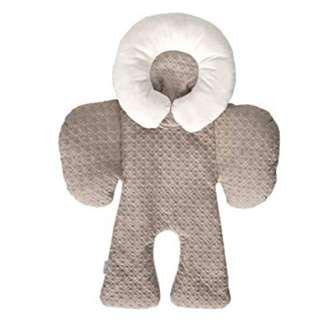JJ Cole Collections: Reversible Body Support (for Car Seat/ Stroller) - Graphite