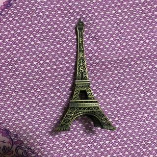 Eiffel tower display