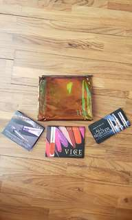Urban Decay Sample Make Up #3items plus Pouch