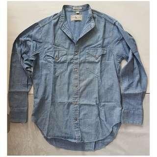 Rare Classic, Vintage Western Shirt, Rare Ralph Lauren Designer Denim Shiet, Original, USA, Street Smart Fashion, Hip Hop, Old School Ralph Lauren Style, Western Design, Seasoned Look