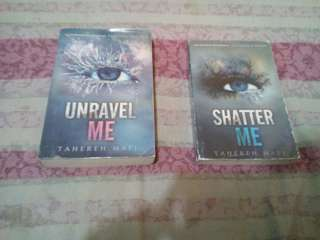 Unravel me and shatter me book