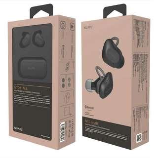 Japan Nuarl NT01 真無線聲5.0藍芽耳機 👉NT01-MB 啞黑色,NT01-SB 銀黑色 💗 全新行貨,保用一年,市區地鐵交收