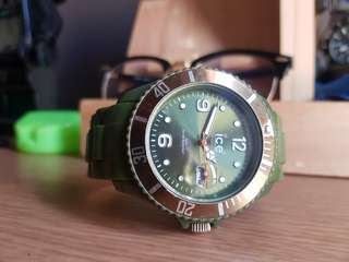 Ice Watch Large Army Green