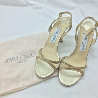 Jimmy Choo 高跟涼鞋 - Jimmy Choo High-Heeled Sandals