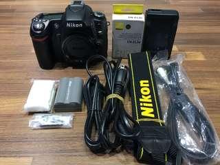 🚚 曙光數位 Nikon D80 Body 單機身