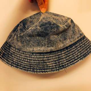 150元專區—H&M丹寧混色漁夫帽