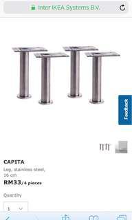 Ikea kitchen cabinets legs