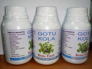 Gotu Kola Organic Capsule