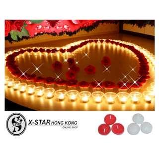 s138092-s138093 白色 紅色 蠟燭 婚禮 婚禮佈置 婚宴用品 情侶 Wedding supplies