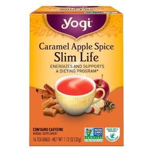 ONHAND - Yogi Tea, Slim Life, Caramel Apple Spice, 16 Tea Bags, 1.12 oz (32 g)