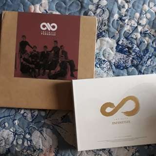 [CLEARANCE] INFINITE Paradise album