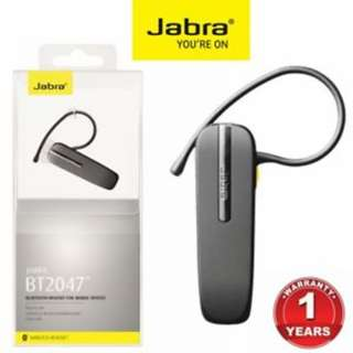 Jabra ★ Classic ★ BT2047 ★ Wireless Bluetooth Headset ★ Authentic ★ 12 mth local warranty
