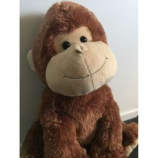 Soft monkey plush toy