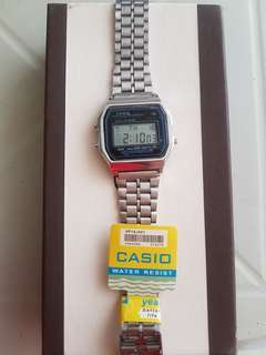 Casio Silver Digital Watch