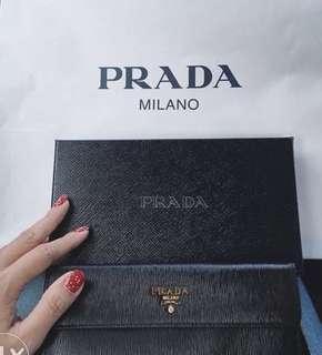 PRADA Portafoglio Pattina Wallet